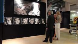 007 James Bond actors portrait painting by Peter Engels