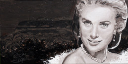 Prince Albert of Monaco buys Grace Kelly painted by Peter Engels