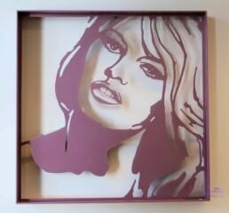 Brigitte Bardot sculpture by Peter Engels