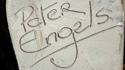 Portrait Painter Peter Engels signature