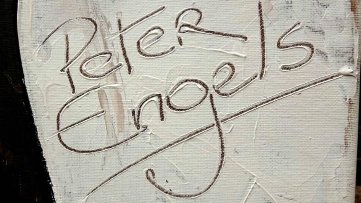 Portrait Painter Peter Engels signature