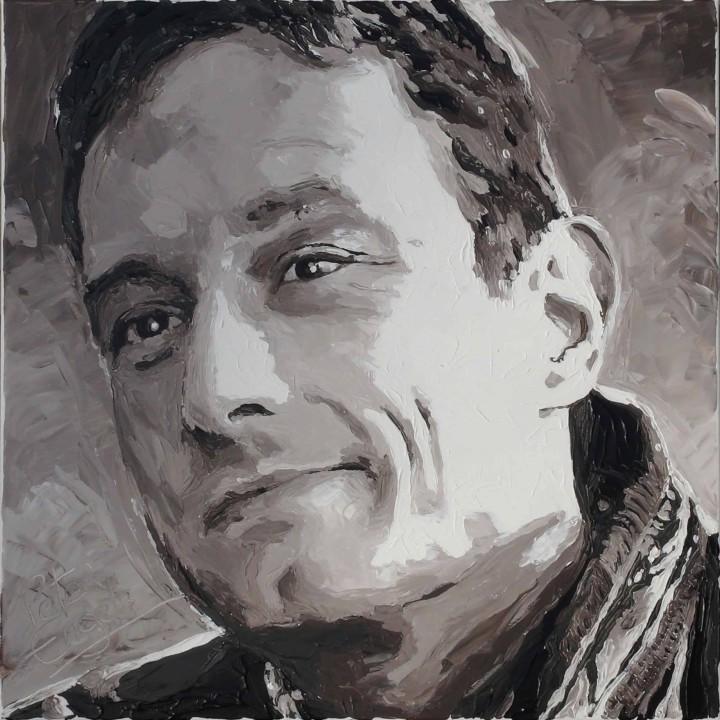 Matt Nys portrait Painting by Peter Engels