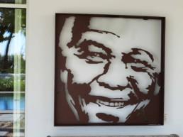 Nelson Mandela sculpture by Peter Engels