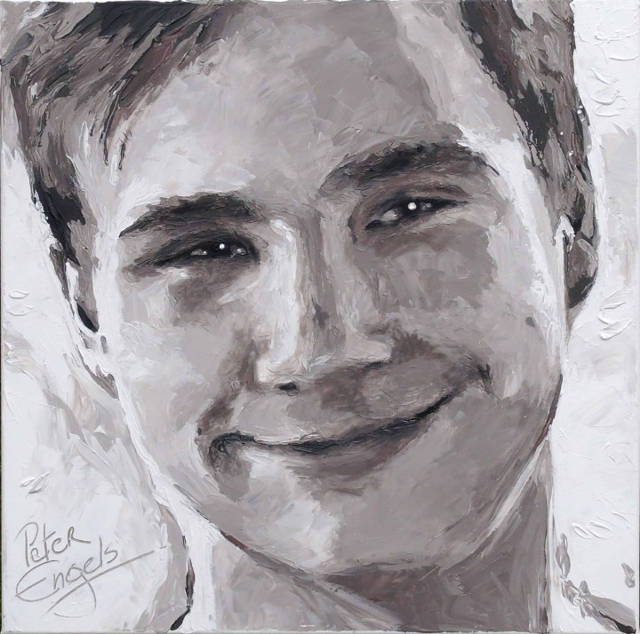 Sander Nys portrait painting by Peter Engels