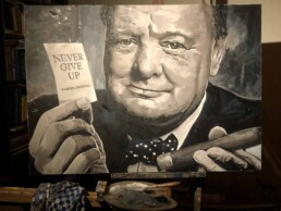 Winston Churchill by Peter Engels